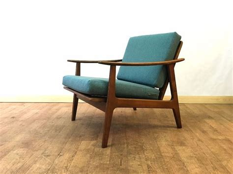 retro danish easy chair armchair mid century modern