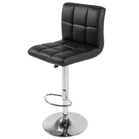 bcp set   pu leather adjustable bar stools counter