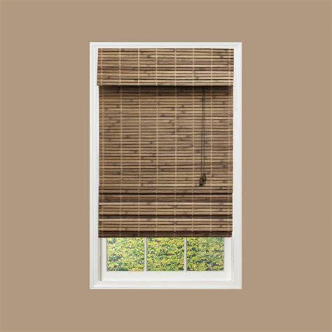 bamboo shades natural shades shades  home depot