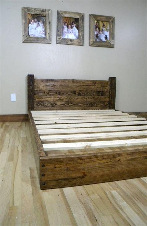barn wood headboard  bed frames images