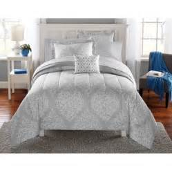 mainstays leaf medal bed in a bag bedding set walmart com