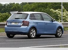 AllNew 2014 Skoda Fabia Spotted Almost Undisguised