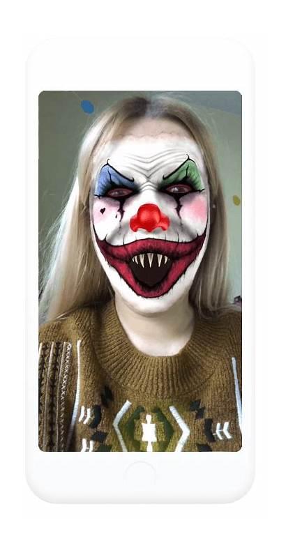 Clown Lenslist Creepy Discover