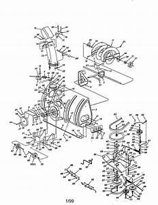 Craftsman Snow Thrower Attachment Parts