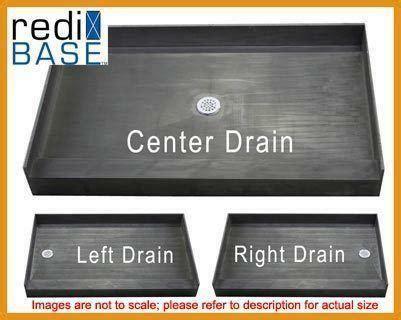 shower base ready for tile tile ready shower pan ebay