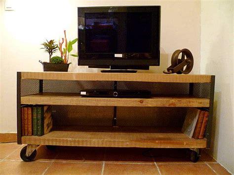 meuble tv roulettes meuble tv industriel 224 roulettes meuble t 233 l 233 furniture home decor et flat screen