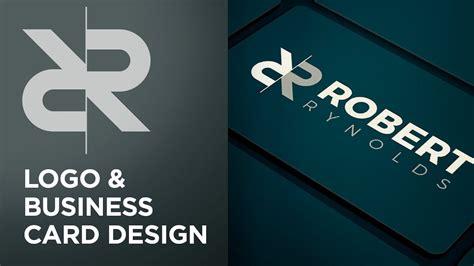 logo  business card design adobe illustrator