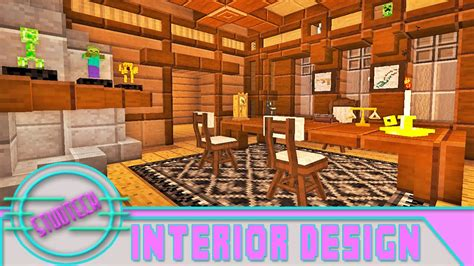 Modded Minecraft Interior Furniture Designs For An Office