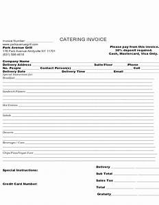 Free Catering Invoice Template Sample Catering Invoice Template Free Download