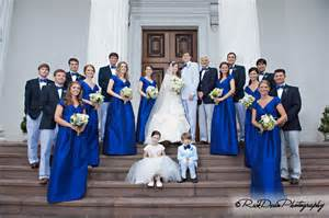 Royal Blue and Red Wedding Theme