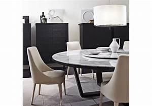 Table Ronde En Marbre : xilos table ronde avec plateau en marbre maxalto milia shop ~ Mglfilm.com Idées de Décoration
