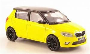 Felgen Skoda Fabia : skoda fabia miniature rs jaune mit noireem dach und felgen ~ Kayakingforconservation.com Haus und Dekorationen