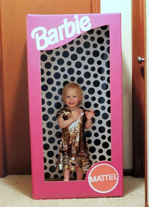 diy barbie box  dress  photo booth barbie birthday