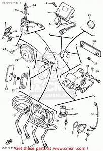 Yamaha Fzr1000 1989  K  Usa Electrical 1
