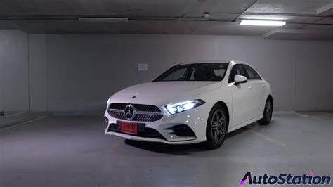 รีวิว Mercedes-Benz A 200 AMG Dynamic ซีดานไซส์กะทัดรัด ...
