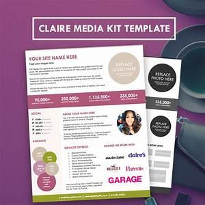 blogger media kit press kit template hipmediakits With online press kit template