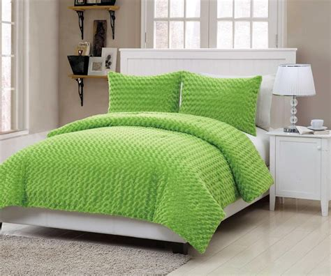 turquoise blue  lime green bedding sets