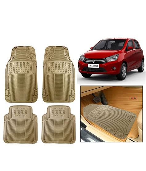 floor mats price in india autosun beige rubber floor mats for maruti suzuki celerio buy autosun beige rubber floor mats