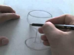Comment Faire Du Verre : le on de dessin dessiner un verre vin youtube ~ Melissatoandfro.com Idées de Décoration