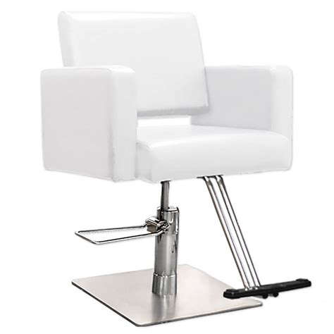 white salon hair salon styling chairs hairdresser