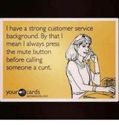 Mute Button Customer Service Meme