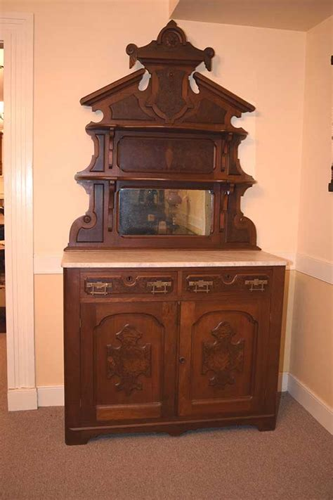 Marble Sideboards by Walnut Marble Top Sideboard Gates Antiques Ltd