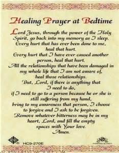 healing prayer at bedtime faith pinterest prayer healing prayer and bedtime