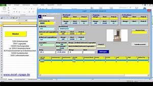 Excel Rechnung Mit Kundendatenbank : lagerverwaltungsprogramm in excel mit artikel bildern und integrierter lieferanten ~ Themetempest.com Abrechnung