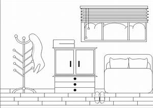 Bedroom Clipart Black And White - Home Design Jobs