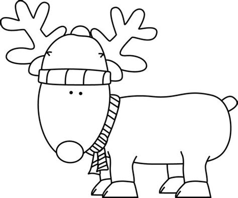 christmas picture outline clip black and white clipart clipart suggest