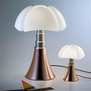 Lampe A Poser Cuivre : lampe poser mini pipistrello de martinelli luce cuivre ~ Teatrodelosmanantiales.com Idées de Décoration