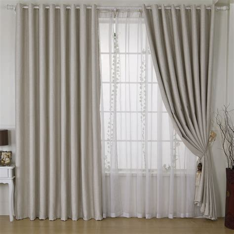 new fashion grey thick blackout curtains for windows of