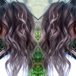 Light Brown Hair Dye For Black Hair by Best 25 Lavender Highlights Ideas On Pinterest Lilac
