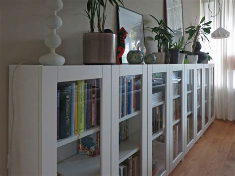 Ikea Bookcase by Billy Bookcases With Grytn 196 S Glass Doors Ikea Hackers