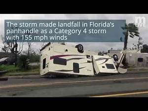 Hurricane Michael damage - YouTube