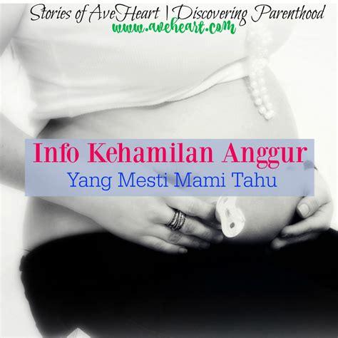 Masalah Kehamilan Trimester 1 Info Kehamilan Anggur Yang Mesti Mami Tahu Stories Of