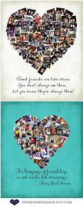 Gift For Best Friends  Personalized Gift  Photo Collage  Gift For Sister  Sorority Gifts