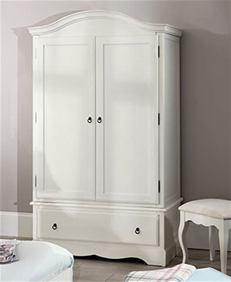 Romance Double Wardrobe, Stunning French Antique White