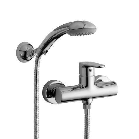 doccetta doccia paffoni green miscelatore esterno per doccia con doccetta