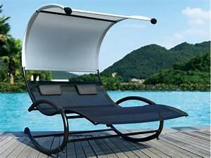 Bain De Soleil En Aluminium : bain de soleil sumba en aluminium et textil ne gris ~ Teatrodelosmanantiales.com Idées de Décoration