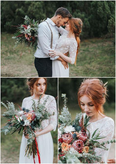 boho style hochzeit marrymag boho hochzeit im wald outdoor location