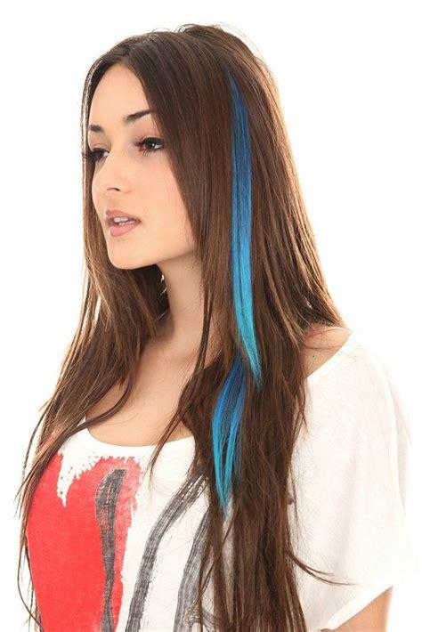 hair color streaks best 20 colored hair streaks ideas on