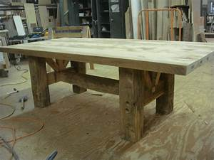 30 beautiful how to build a farmhouse dining table With barn wood dinner table