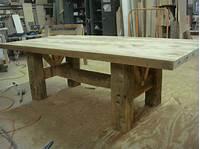 barn wood tables Barn Timber Farmhouse Table | The Design Ward