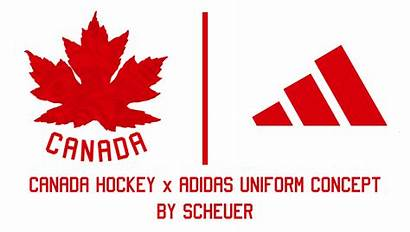 Hockey Canada Concept Logos Scheuer Uniform Header
