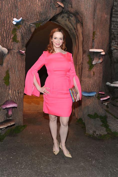 Christina Hendricks - Honor Fashion Show in New York City ...