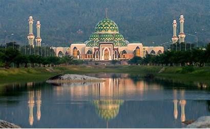 Masjid Wisata Indah Agung Gambar Yang Natuna