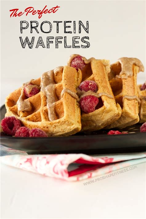 The Perfect Protein Waffles - ProShapeFitness