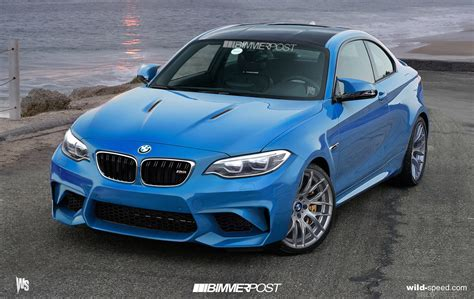 our bmw m2 preview rendering concept to debut frankfurt 2015