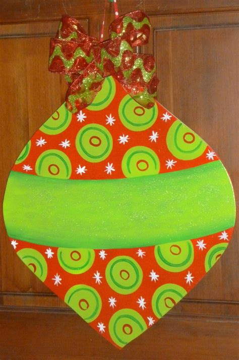 large size wooden christmas ornament christmas decor
